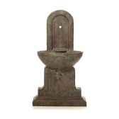 fontaine modele helene fountain surface en gres avec du bronze bs3386sa vb