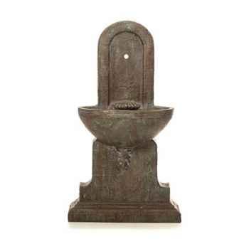 Fontaine-Modèle Helene Fountain, surface granite avec bronze-bs3386gry/vb