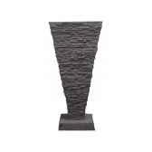 fontaine modele saqqara fountainhead surface pierre noire bs3339lava