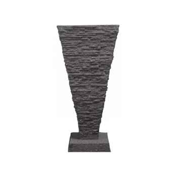 Fontaine-Modèle Saqqara Fountainhead, surface pierre noire-bs3339lava
