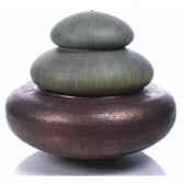 fontaine modele two tier heian fountain surface bronze avec vert de gris bs3331vb