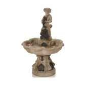 fontaine modele alsace fountain surface granite combines avec du fer bs3103gry iro