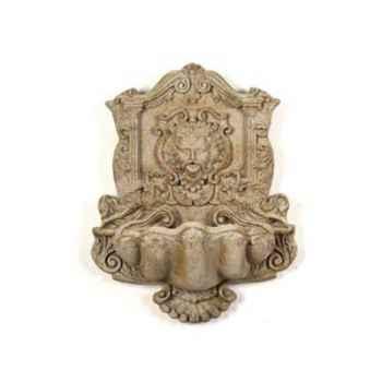 Fontaine-Modèle Wind God Wall Fountain, surface marbre vieilli combinés avec or-bs2197wwg