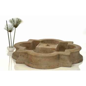 Fontaine-Modèle Madrid Fountain Basin, surface granite-bs3160gry