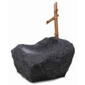 fontaine modele boulder orientafountain surface pierre albatre noir bs3197alab