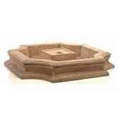 fontaine modele bath fountain basin surface pierre romaine bs3192ros