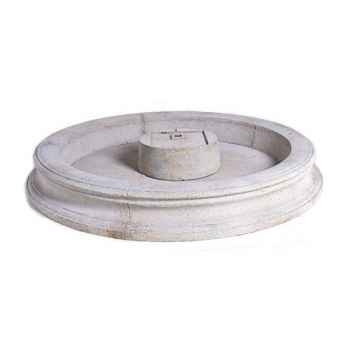 Fontaine Palermo Fountain Basin, granite -bs3311gry