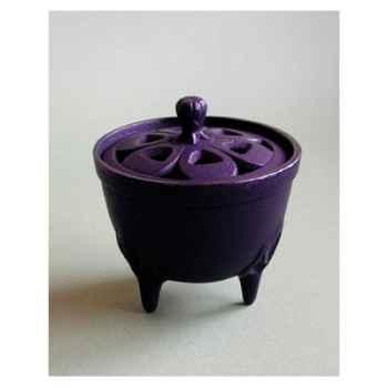 Brûle-parfums bol noire - INC29021BK