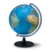 globe de bureau falcon 40 globe geographique lumineux cartographie double effet physique eteint politique allume