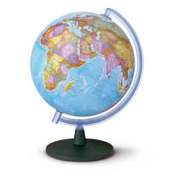 Globe Sirius 40 - Globe géographique non lumineux - Cartographie politique - diam 40 cm - hauteur 60 cm