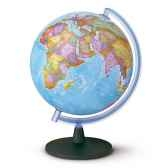 globe sirius 30 globe geographique non lumineux cartographie politique diam 30 cm hauteur 42 cm
