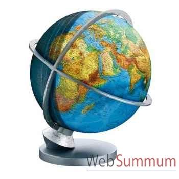 Globe géographique Colombus lumineux - modèle Planète Terre Panorama - sphère 30 cm-CO4230529