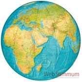 globe geographique colombus lumineux modele indoor sphere 40 cm pour interieur maison coi204006