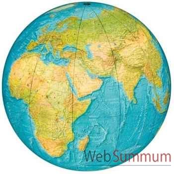 Globe géographique Colombus lumineux - modèle INDOOR - sphère 40 cm pour intérieur maison-COI204006