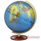 globe geographique colombus lumineux modele duplex double vision sphere 30 cm co463052
