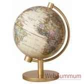 mini globe geographique stellanova lumineux sphere 13 illumine antique 217432