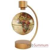 globe geographique stellanova non lumineux magnetique flottant antique sphere 10 209437