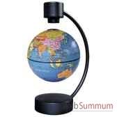 globe geographique stellanova non lumineux magnetique flottant bleu sphere 10 209529