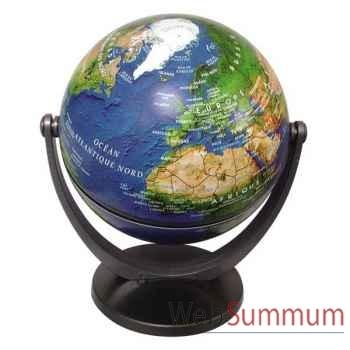 Mini-Globe géographique Stellanova non lumineux- modèle classique - sphère 10 cm tournante basculante satellitte-SLSATELLIT