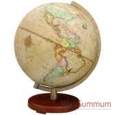 globe geographique terra lumineux modele terra sphere 30 cm antique tr603014