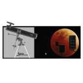 fuzyon optics telescope 114 x 900 mm monture equatoriale motorise