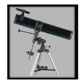 fuzyon optics telescope 114 x 1000 mm monture equatoriale motorise