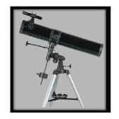 fuzyon optics telescope 114 x 1000 mm monture equatoriale motorise