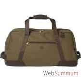baron 4008 02 sac de transport en toile cuir vert