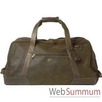 Baron-4008-04-Sac de transport en cuir de daim.