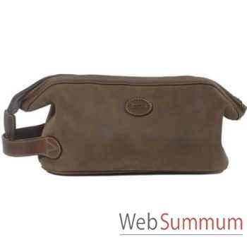 Baron-4018-04-Trousse en cuir de daim.