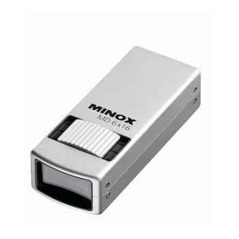 Minox-62200-Monoculaire MD 6X16 corp métallique, poids 105 g.
