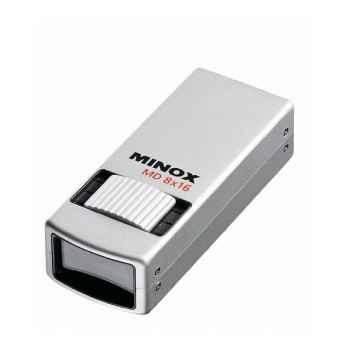 Minox-62201-Monoculaire MD 8X16, étanche à la poussière et à l'eau, poids 105 g.