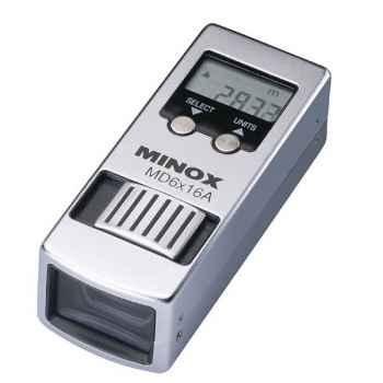 Minox-62203-Monoculaire MD 6X16 A (Chronomètre, altimètre, termomètre...), corp métallique, poids 98 g.