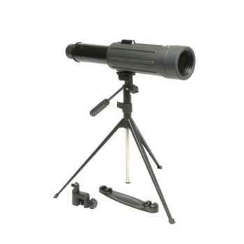 """Yukon-21023K-Kit-Lunette terrestre (longue vue télescopique) """"SCOUT"""" 30x50 WA + trépied, large champ de vision, poids 700 gr."""