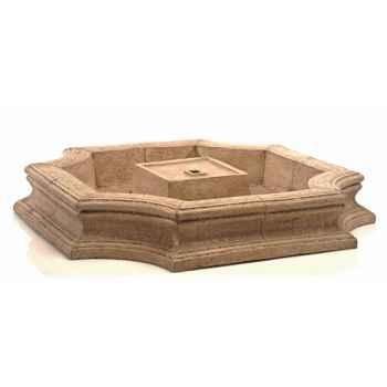 Fontaine Bath Fountain Basin, pierre romaine -bs3192ros