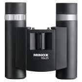 minox 62116 jumelle compacte bd 10x25 br positionnement optimaet rapide pour les porteurs de lunettes poids 291 g