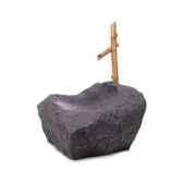 fontaine boulder orientafountain pierre albatre noir bs3197alab