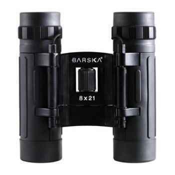 """Barska-AB10108-Jumelle modèle """"LUCID"""" 8x21, compact, poids 204 g."""
