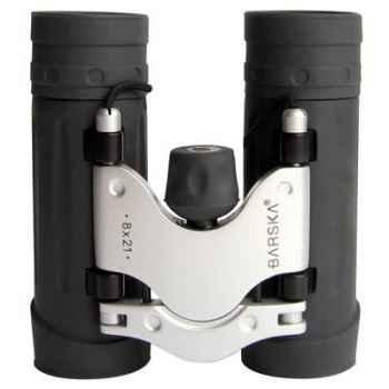 """Barska-AB10124-Jumelle modèle """"TREND"""" 8x21, haute précision, poids 204 g."""
