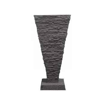 Fontaine Saqqara Fountainhead, pierre noire -bs3339lava