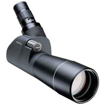 Minox-62211-Lunette MD 62 W noire coudée 45°, système à baïonnette pour le changement rapide des oculaires.
