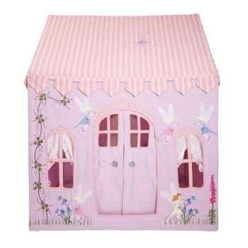Grande maisonnette en tissu thème fees pour enfant- LFC