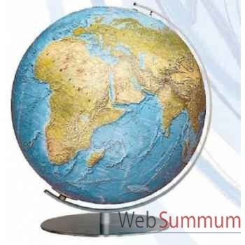 Globe lumineux colombus diam 34 collection classic duorama relief co213481f