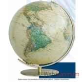 globe lumineux colombus diam 34 antique royaco223471