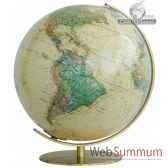 globe lumineux colombus diam 40 antique royaco224071
