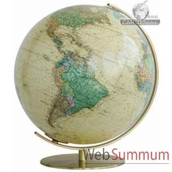 Globe lumineux colombus diam 40 antique royal co224071