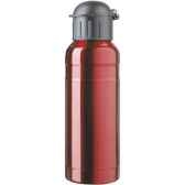 isostel9711is bouteille sport contenance 070 simple paroi acier finition colore rouge