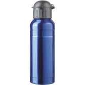 isostel9712is bouteille sport contenance 070 simple paroi acier finition colore bleu