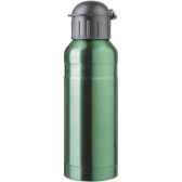 isostel9713is bouteille sport contenance 070 simple paroi acier finition colore vert