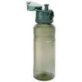isostelclfk1gr bouteille sport contenance 070 simple paroi polycarbonate transparente gris fume
